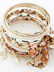 Putizi Популярные бабочки браслет моды (кофе)