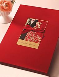Bride & Groom Projeto Livro de Visitas (5 Páginas)