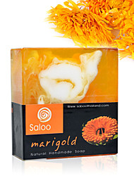 Tailândia Handmade Calendula Soap Whitening Hidratante Anti-Acne 90g