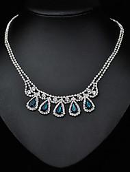 Tango Fashion Jewelry Necklace(Blue,GreenNZ0041)