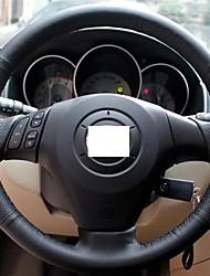 Подлинная кожаный чехол рулевого колеса для Старого Mazda 3 Mazda 5 Mazda 6