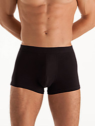 Yihaomian Men's Cotton Black Boxer D14 NP160304200