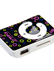 "TF Card Reader ""C"" della tastiera digitale Mp3 Player con la clip"