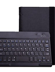 Bluetooth V3.0 59-Key Keyboard with Protective PU Leather Case Stand  for Lenovo Yoga 8 B6000