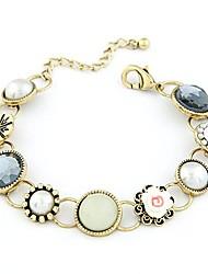 exquisite Mode exquisite Klein süße Blumen Edelstein Armband