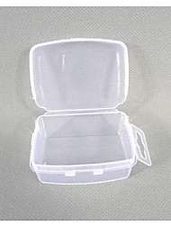 Plastic Transparent  Storage Case Two Sets