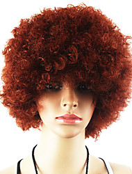 Afro Wig Fans Bulkness Cosplay Christmas Halloween Wig Brown Wig 1pc/lot
