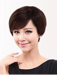 Capless Short  100% Human Hair Wigs