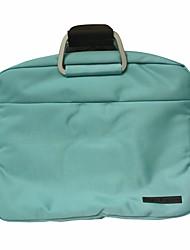 Yishang elegante bolsa de ordenador portátil crossbody (azul claro)