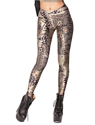 Elonbo Figure Mountains Style Digital Painting Women Free Size Tight Leggings