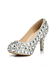 Women's Wedding Shoes Heels/Platform Heels Wedding/Party & Evening Silver