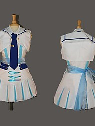 Inspired by Love Live Maki Nishikino Anime Cosplay Costumes Cosplay Suits Patchwork White Short SleeveTop / Blouse / Skirt / Headpiece /