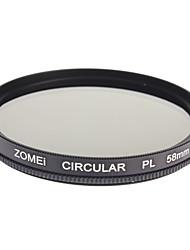 Zomei Professionelle Optical CPL Filter Zirkular Polfilter Super-HD-Klasse-Filter (58 mm)