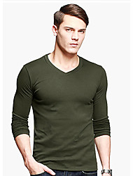 GentleMens Fashion Thick Long Sleeve Tight Shirt