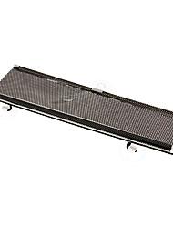 68x125cm Roll-up de pare-brise de voitures pare-soleil Couverture arrière aspiration cupule Noir