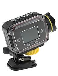 GS200 1,5-дюймовый LTPS экран HD 1080P/720P 5,0 МП CMOS водонепроницаемые / Спорт камера с Wi-Fi