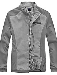Men's Coats & Jackets , Cotton/Polyester Casual Kaying