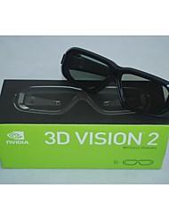 Nova Unopened Genuine Nvidia Geforce 3D Stereo Vision 2 óculos sem fio