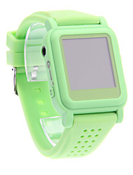Mode Confortable MP4 pratique montre Smart Watch Player (vert)