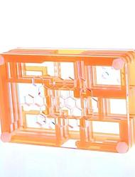 PI04 protettiva 9 strati caso acrilico Box Box per Raspberry PI - Translucent + Arancio