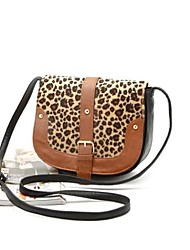 New Arrival New Match Cute Small Leopard Print Vintage Buckle All-match Shoulder Bag Messenger Bag