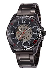 SHENHUA® Men's Hollow Out Mechanical Stainless Steel Wrist Watch  Cool Watch Unique Watch