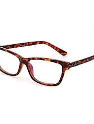 Unisex Fashion  Plastic Glasses(No lens)