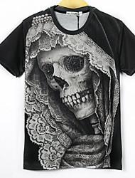 Джанни Мужская 3D печать Прохладный футболки