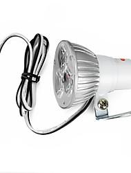 exLED Electric Car / Motorcycle High Power 3W 3-LED 6000K 300lm Energy Saving Spotlights (12V~80V)