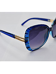 Chloe moda al aire libre Ultravioleta Prueba Sunglass (azul)