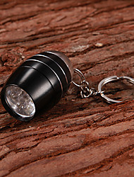 Key Chain Flashlights Super Light Compact Size Small Size Aluminum alloy for CR2025 CR2032 1*CR2025