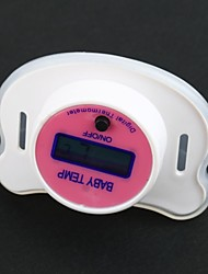 Digital LCD Weiche Schnuller Nippel-Baby-Thermometer
