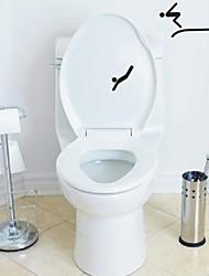 Le gens Divers toilettes Posté Stickers muraux