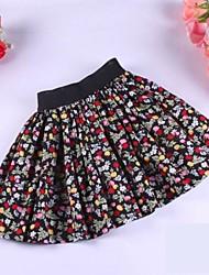 La moda de Nueva Pastoral niños del estilo de la falda Pequeña Flor patrón de diseño de la muchacha del vestido de la princesa