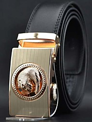 Men's Fashion High Grade Automatic Buckle Leather Belt