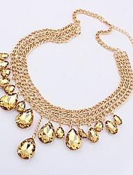 Маки Металл Mashup Стиль Новый Стиль золотое ожерелье