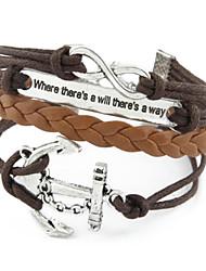 Wrap Bracelet Multilayer Vintage Anchor Weave Bracelet