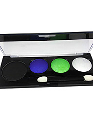 4 Colors Makeup Eye Shadow Palette (8691-06)