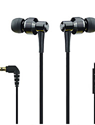 Lizu LZ3000 Flat Cable In-Ear Earphone with Mic for Mobilephones