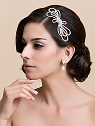 Women's / Flower Girl's Alloy Headpiece-Wedding / Special Occasion Flowers