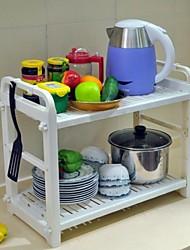 BAOYOUNI multifunzionale PP Materiale Diy rack di stoccaggio cucina rack di stoccaggio di plastica di stoccaggio Plate Rack