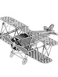 DIY 3D Laser Cut Models Metallic Nano Puzzle Fokker DV11 Biplane