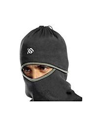 Cyclisme tissu de coton noir Prévenir Vent masque respiratoire