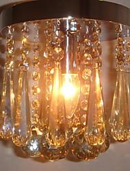 200 milímetros de luxo moderna iluminação lustre de cristal Decoração Iluminação Hotel Corredor Corredor Luz Lâmpada