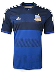 Men's SoccerJersey Short Sleeves Sapphire Blue