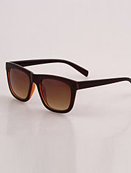 Why Fashion Large Frame Sunglasses (Coffee)