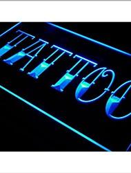 i550 Tattoo Shop Bar Pub Art Piercing Neon Light Enregistrez-vous