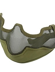 V2 Tactical Stahl Half Face Mask Grün
