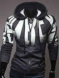 Men's Fashion With A Hood Slim Sport Jacket