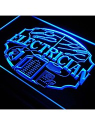 Electrician Shop Display Repair Neon Light Sign